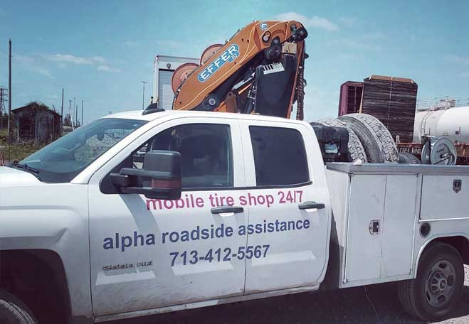 roadside assistance and tire repair